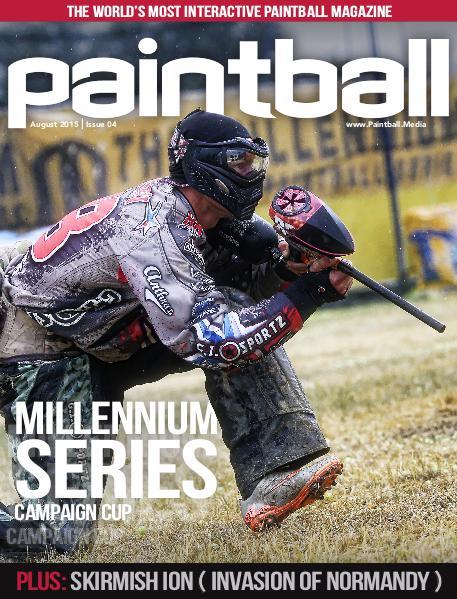 Paintball Magazine August 2015
