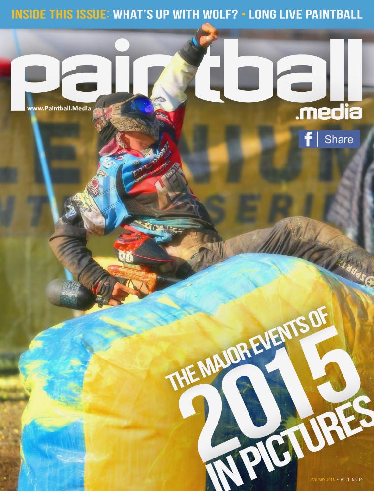 Paintball Magazine January 2016