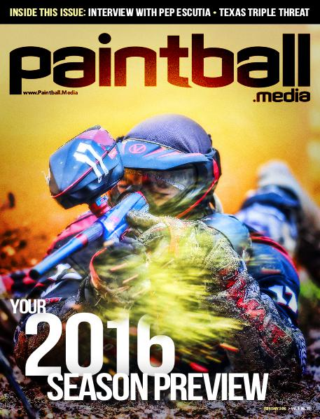 Paintball Magazine February 2016