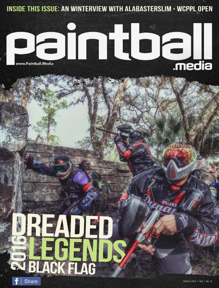 Paintball Magazine March 2016