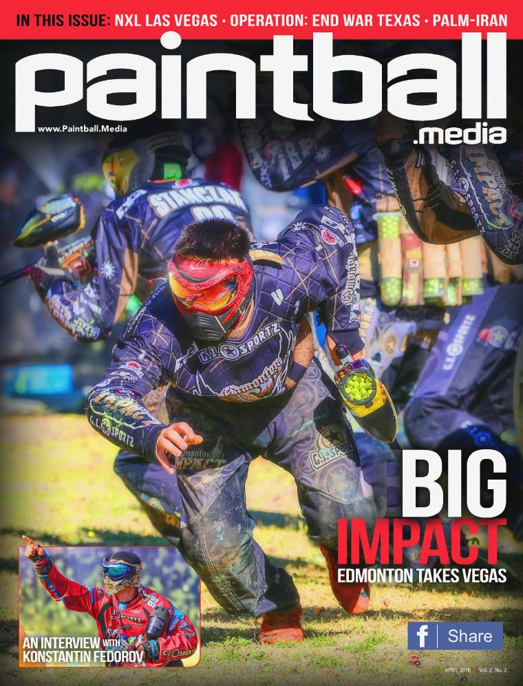 Paintball Magazine Paintball Media Magazine April 2016