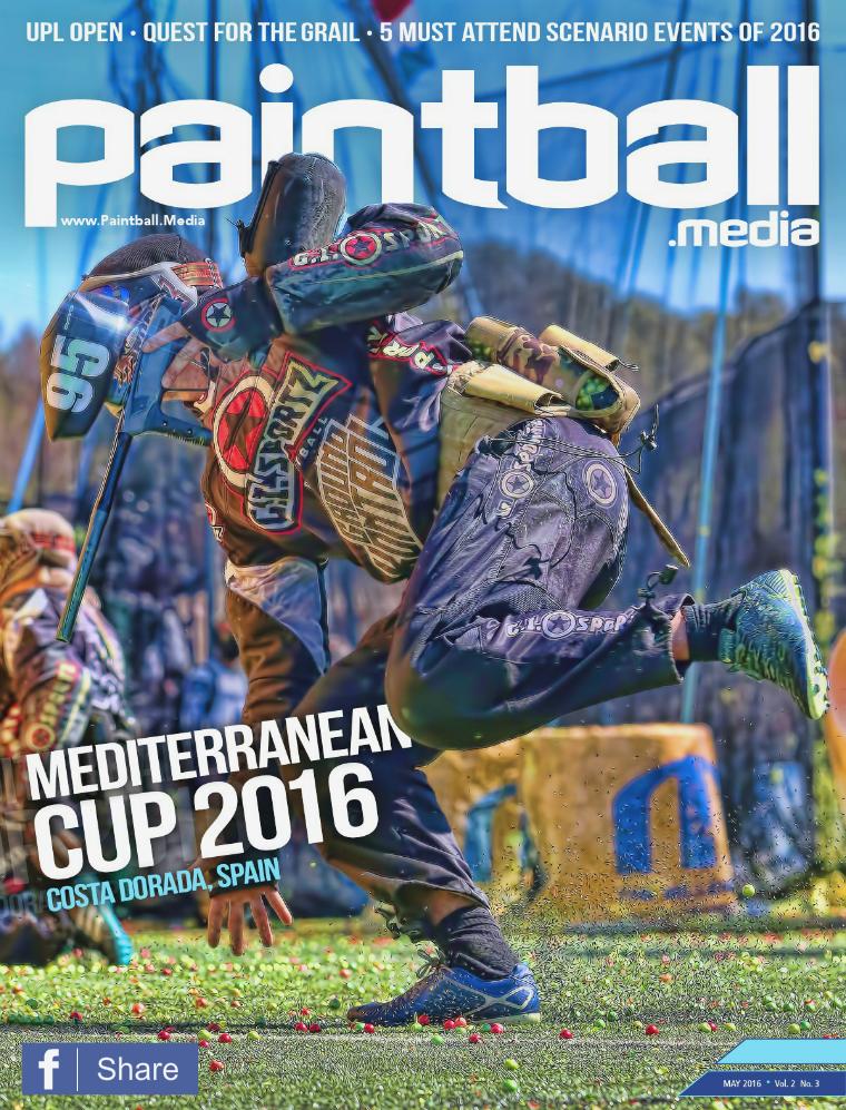 Paintball Magazine Paintball.Media Magazine May 2016