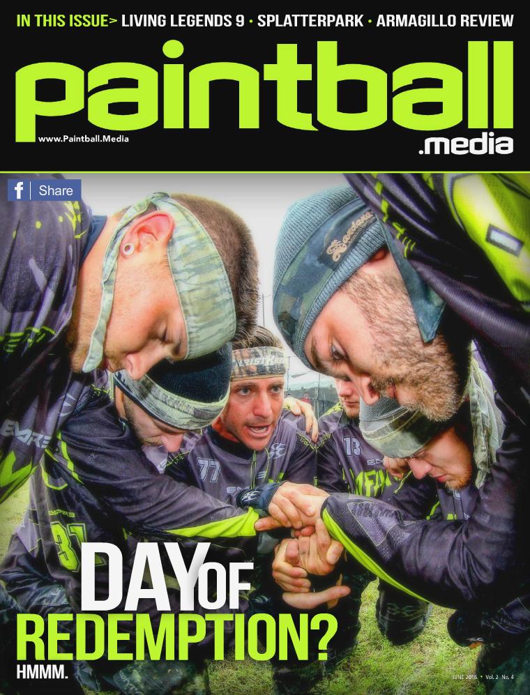 Paintball Media Magazine June 2016 Issue