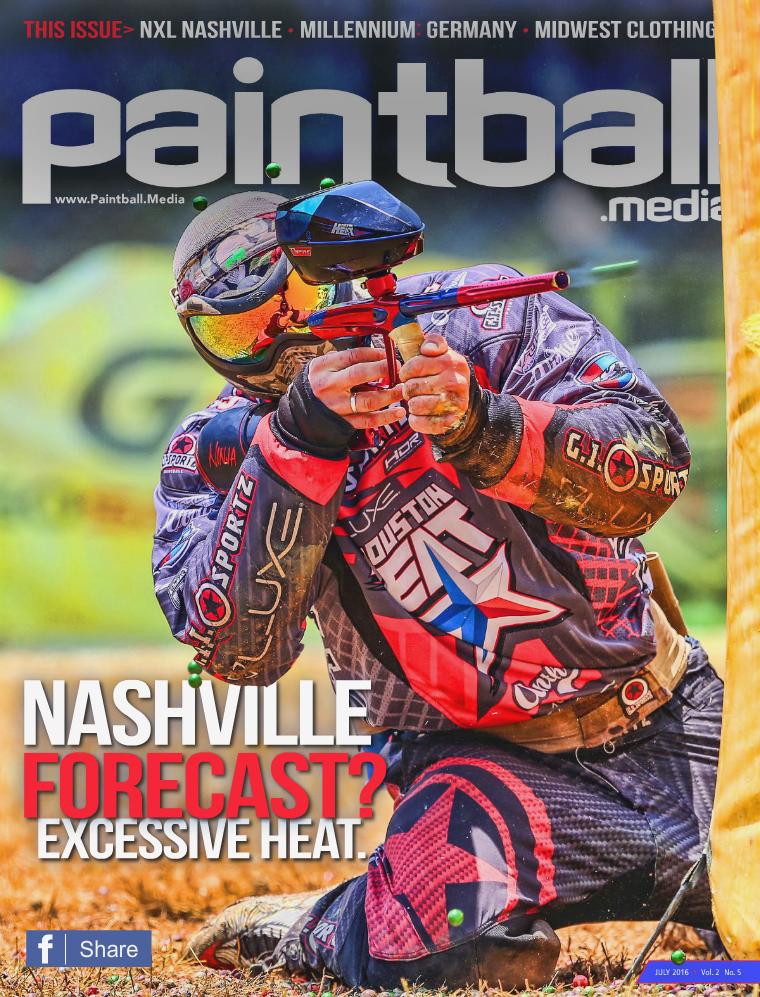 Paintball Media Magazine July 2016 Issue