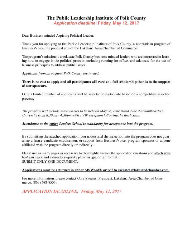 Public Affairs Documents 2017 PLI Application PDF