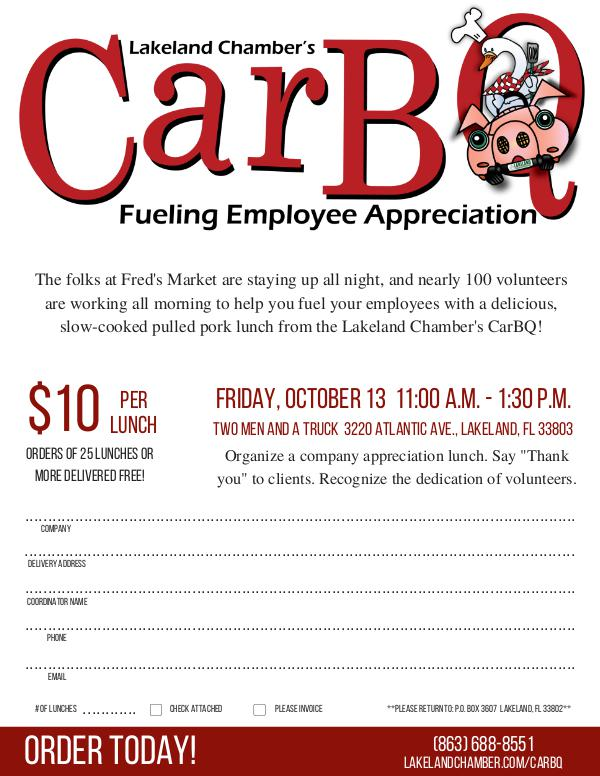 Chamber Forms CarBQ Flier