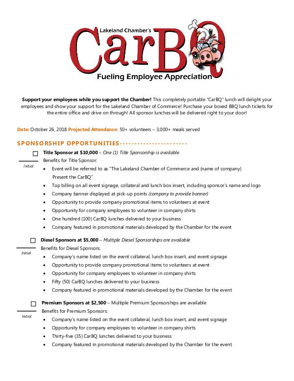 CarBQ 2018 Sponsorship Contract Sponsorship Contract 2018 CarBQ