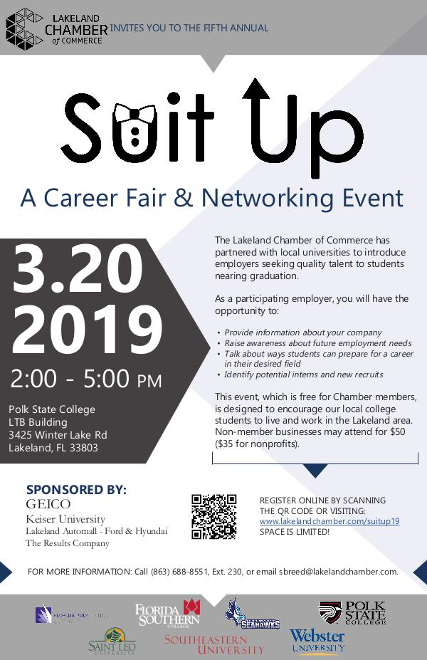 5th Annual Suit-Up - Employer Poster SuitUp2019_poster_employer