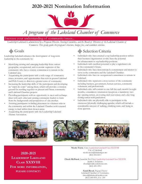 Class XXXVIII Nomination Information Final LL38 Nomination Form