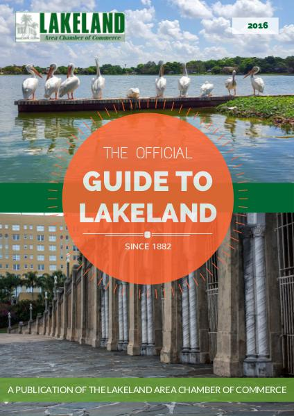 Advertising Opportunities: 2016 Official Visitors Guide The Official Guide to Lakeland