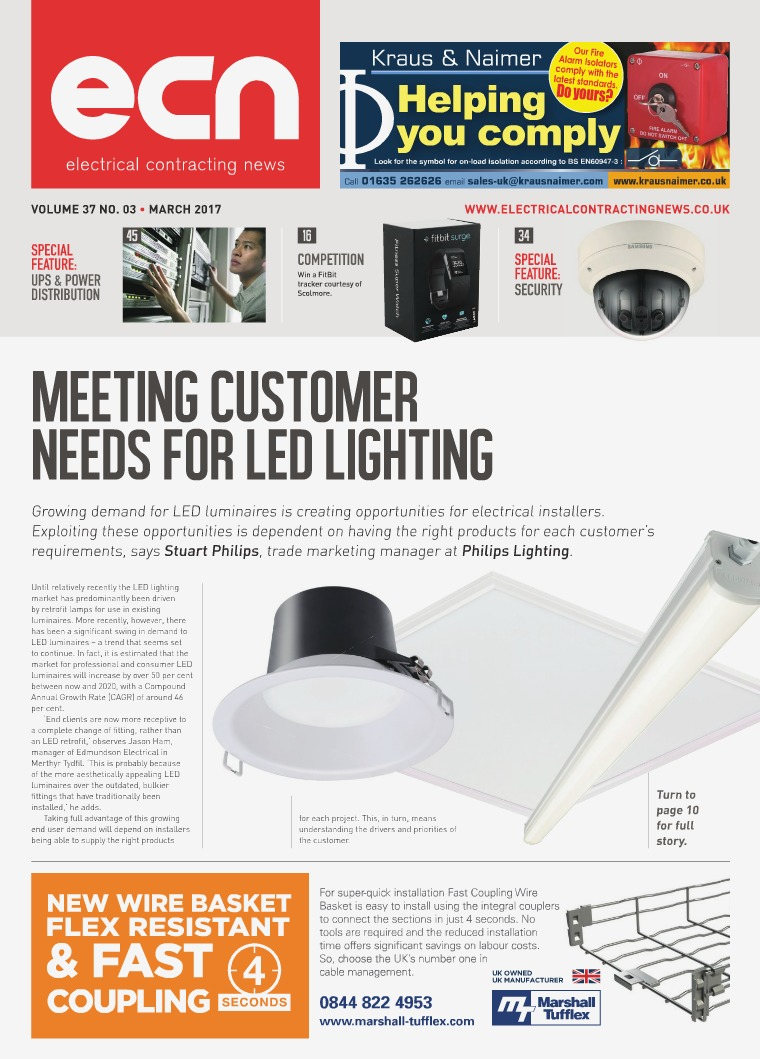 Electrical Contracting News (ECN) March 2017