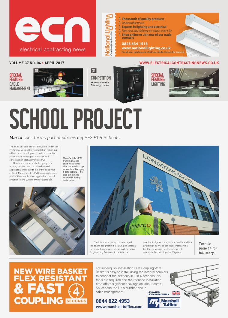 Electrical Contracting News (ECN) April 2017