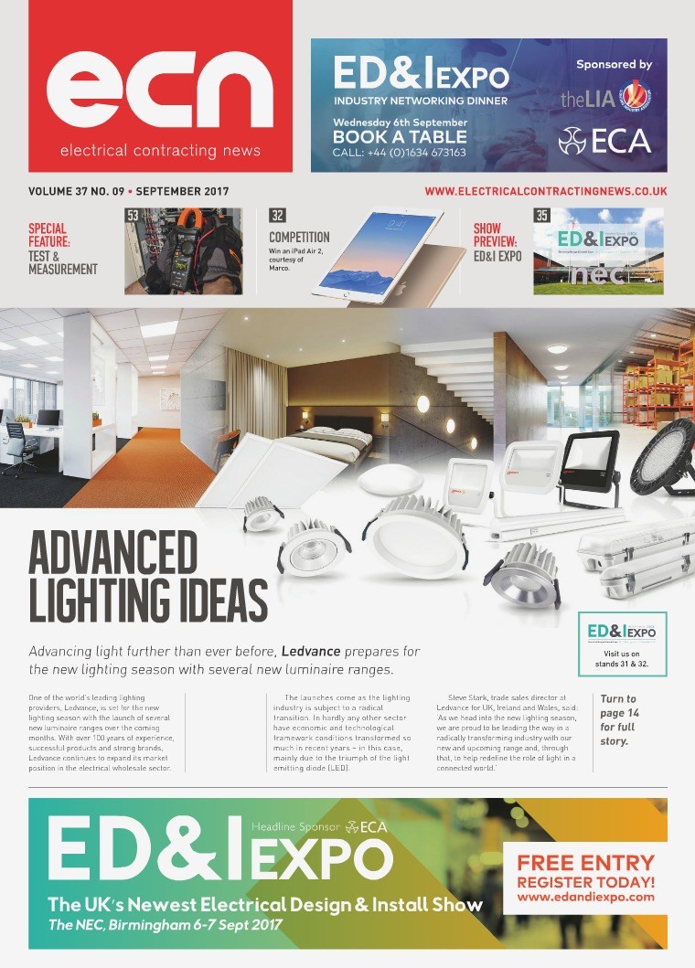 Electrical Contracting News (ECN) September 2017