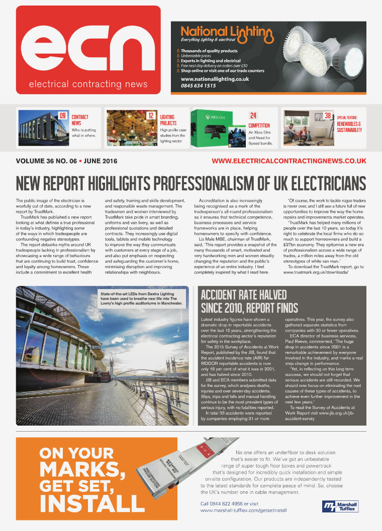 Electrical Contracting News (ECN) June 2016