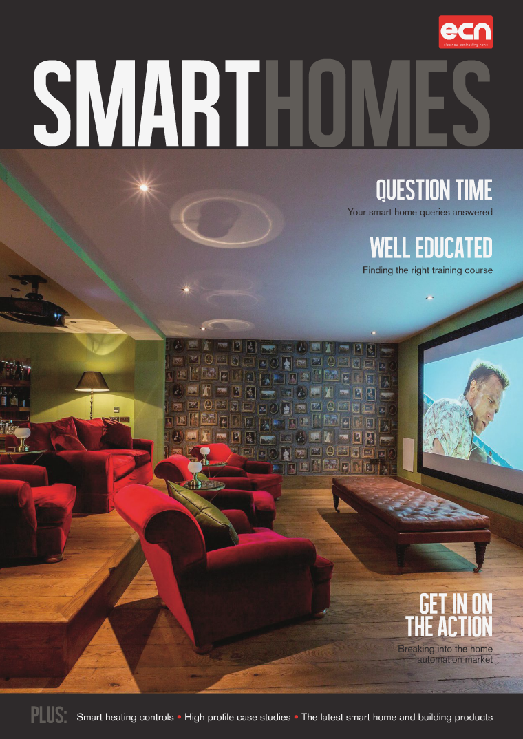 Electrical Contracting News (ECN) Smart Homes Supplement 2016
