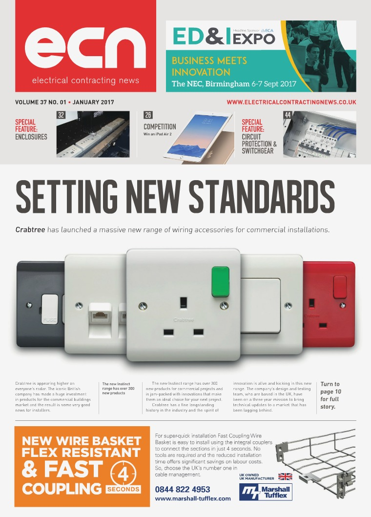 Electrical Contracting News (ECN) January 2017