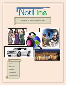 NotiLine Primera Edición