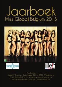 Miss Global Belgium Jaarboek 2013