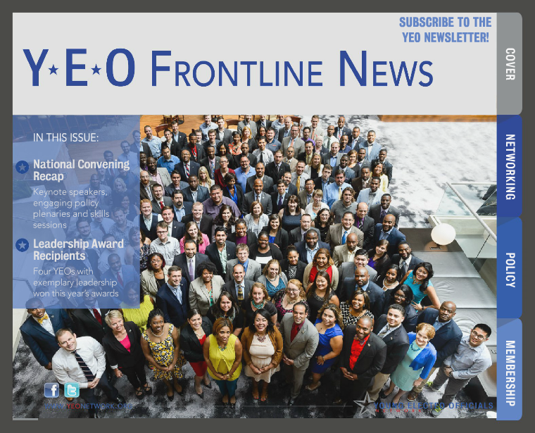 YEO Frontline News 3rd Quarter, 2015 - 10th National Convening Recap