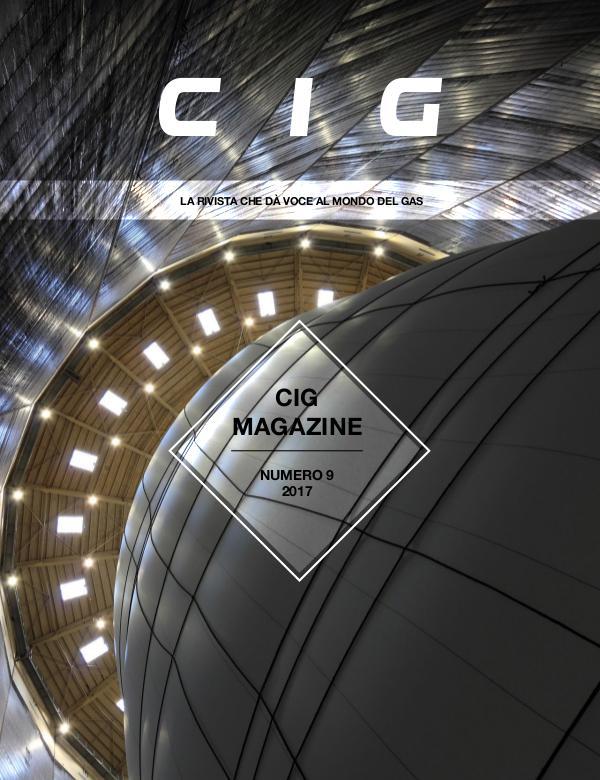 CIG Magazine - La rivista che dà voce al mondo del gas CIG Magazine 9