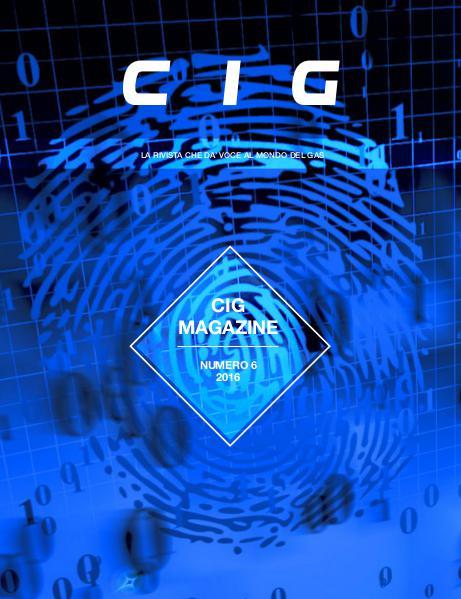 CIG Magazine - La rivista che dà voce al mondo del gas CIG Magazine 6