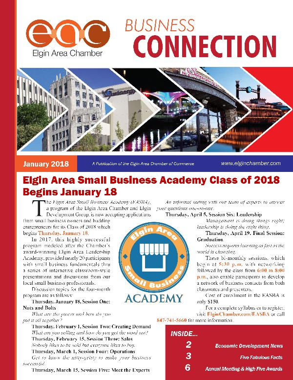 January 2018 EAC Business Connection January 2018