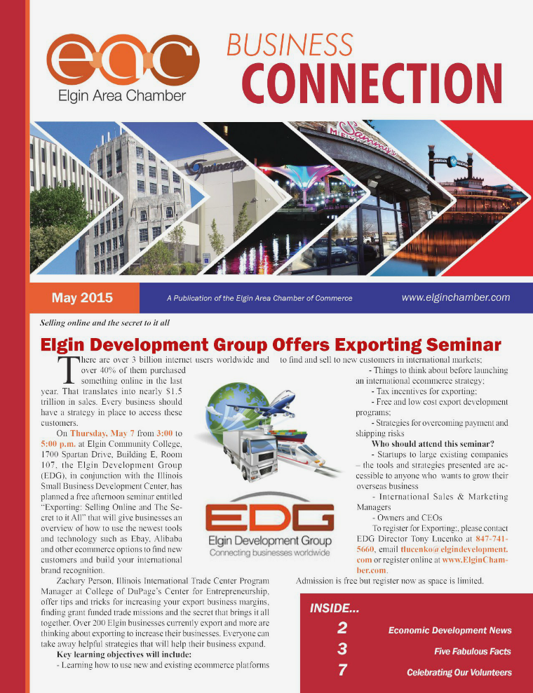 May 2015 EAC Business Connection May