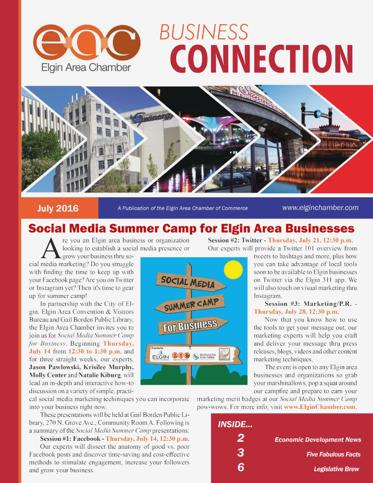 July 2016 EAC Business Connection July 2016