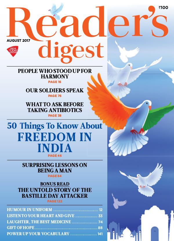 Reader's Digest August 2017