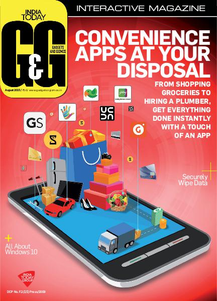 Gadgets and Gizmos August 2015
