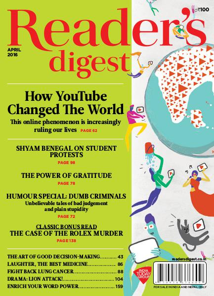 Reader's Digest April 2016