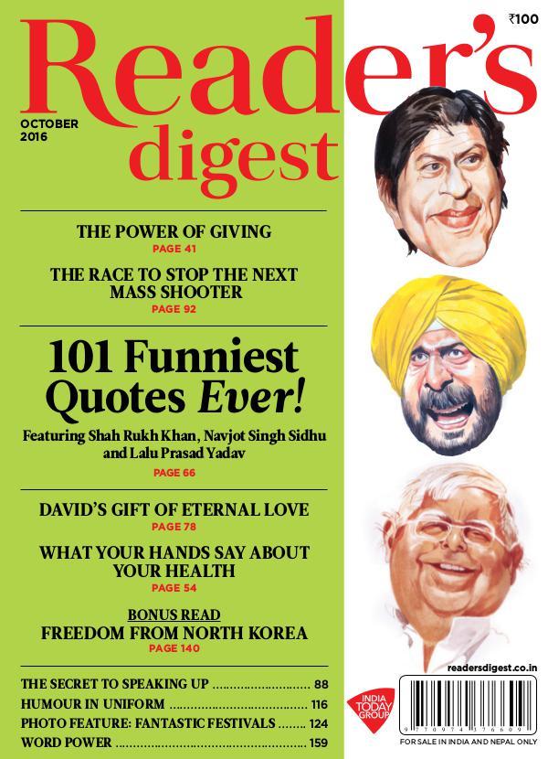 Reader's Digest October 2016