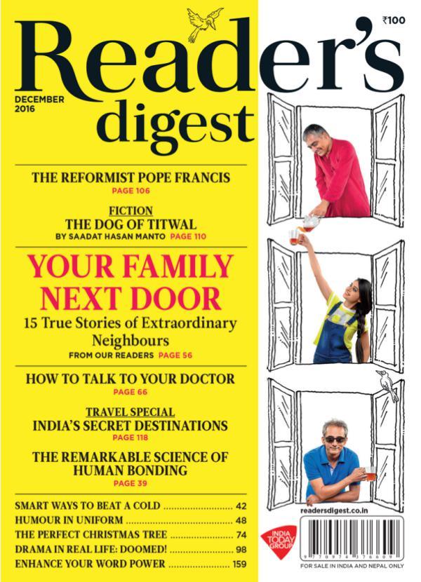 Reader's Digest December 2016