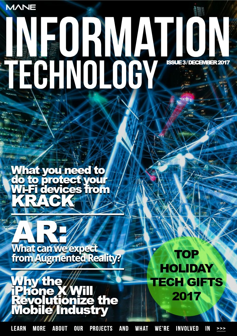 Mane Product & Technology Issue 3 - December 2017