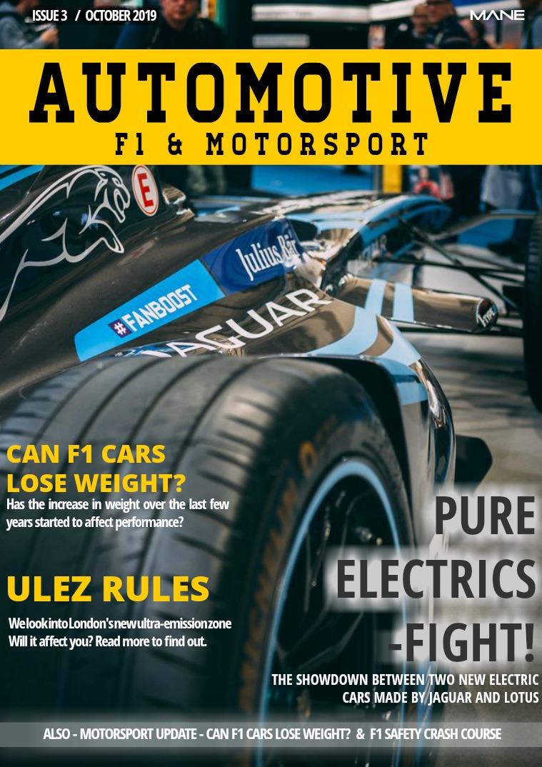 Automotive, F1 & Motorsport Issue 3 - October 2019