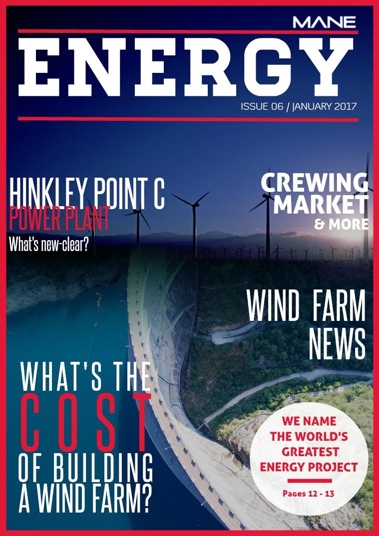 Mane Energy Issue 6 - January 2017