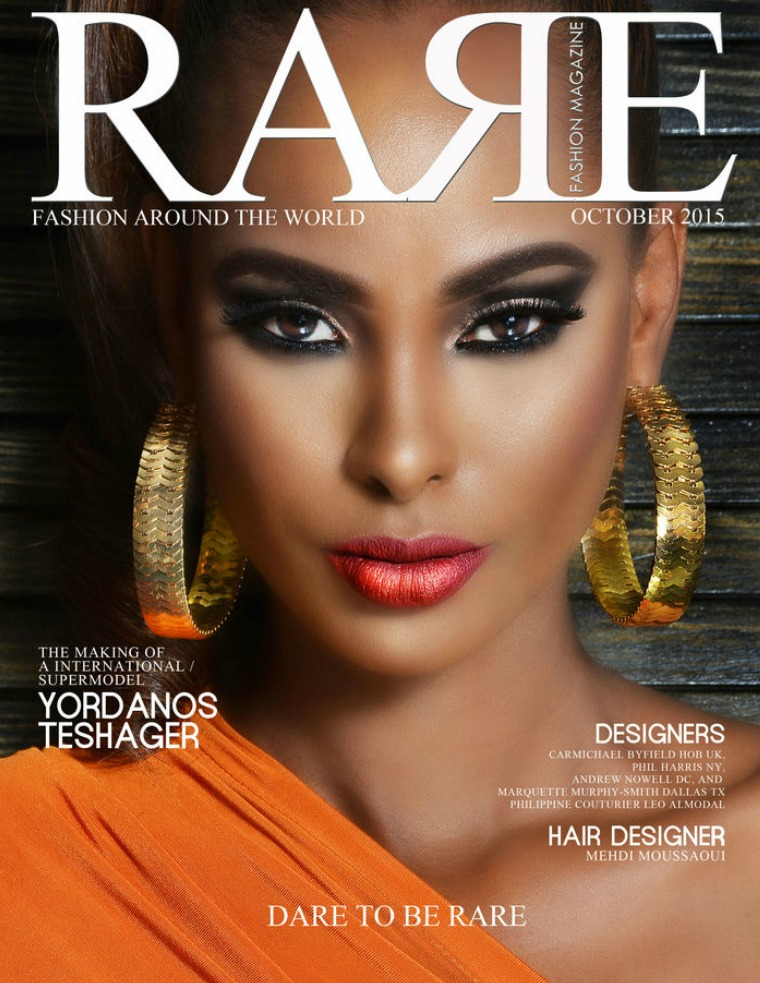 Rare Fashion Magazine October 2015 volume 5