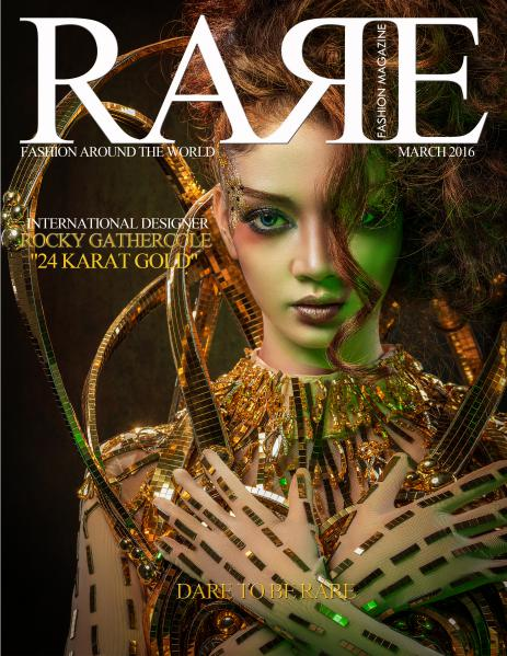 Rare Fashion Magazine March 2016 Rare Fashion Magazine March 2016