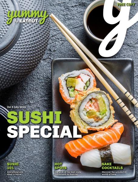 Yummy Magazine Vol 9 - Sushi Special