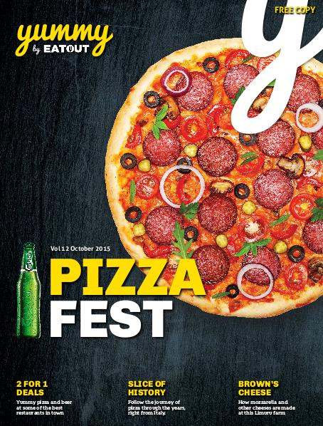 Yummy Magazine Vol 12 - Pizza Fest