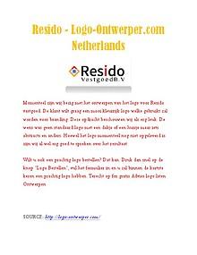 Resido - Logo-Ontwerper.com Netherlands