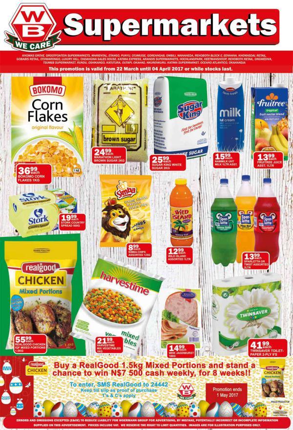 Woermann Supermarkets 22 March - 4 April 2017