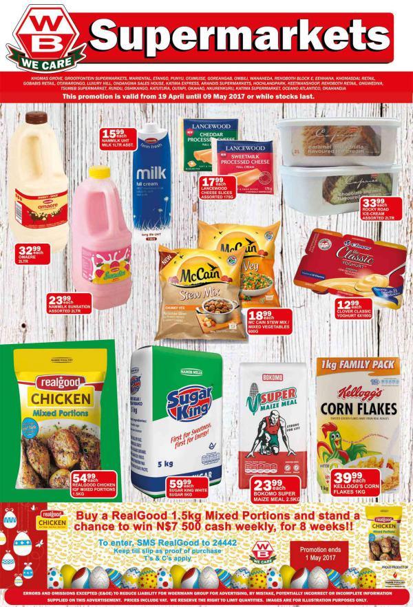 Woermann Supermarkets 19 April - 9 May 2017
