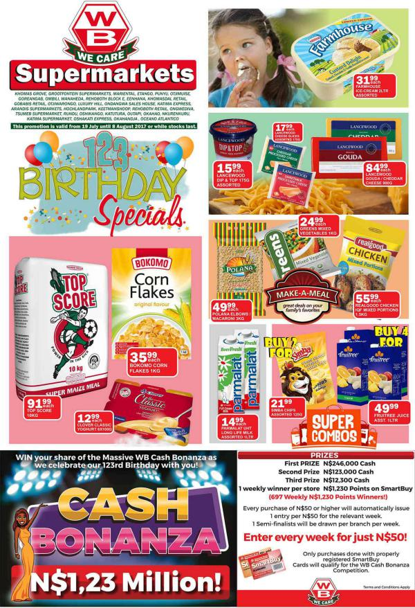 Woermann Supermarkets 19 July - 8 August 2017