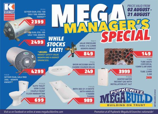 Mega Manager's Special