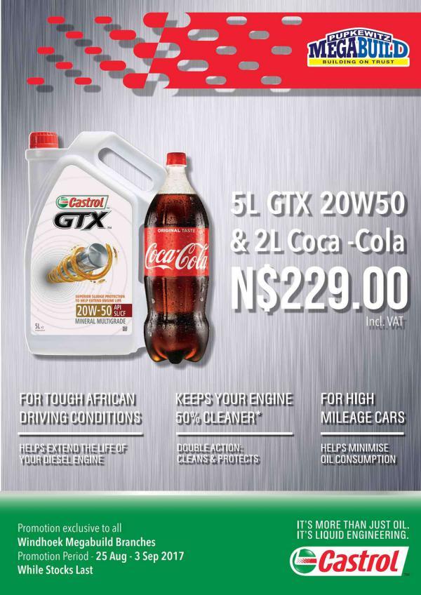 Castrol & Coca Cola Promo