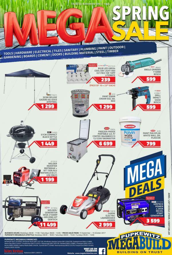 Mega Spring Sale