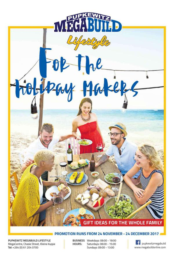 Lifestyle holiday makers.