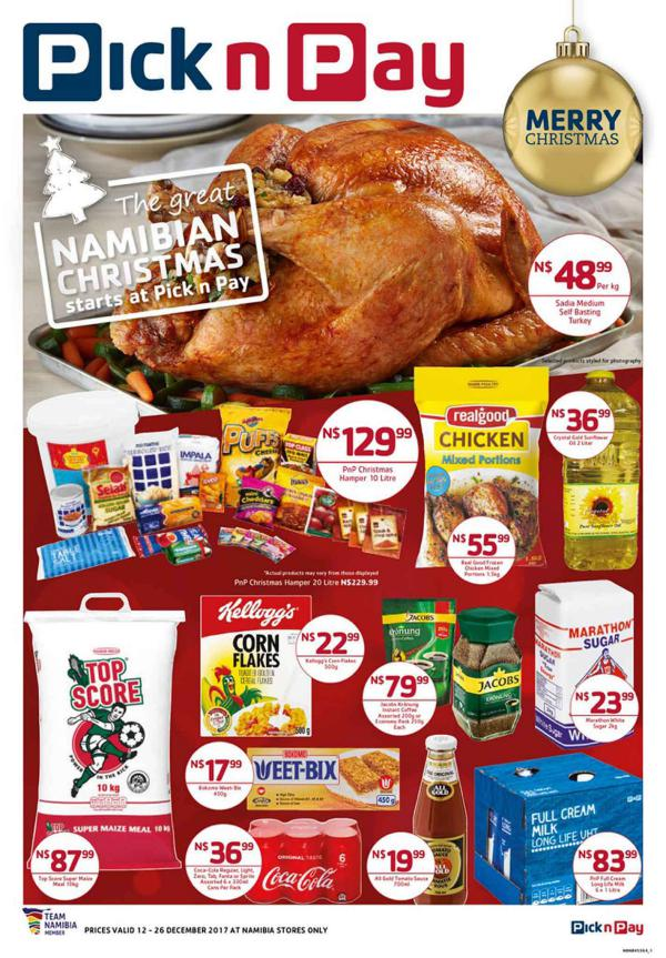 Pick n Pay Namibia 12 December - 26 December 2017