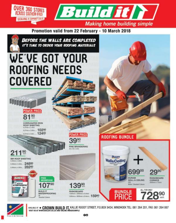 Build It - Windhoek 22 Feb - 10 Mar 2018